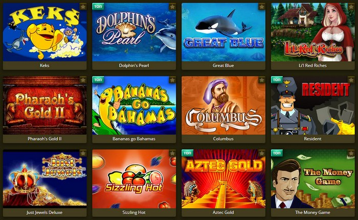Самые популярные автоматы Eldorado casino онлайн